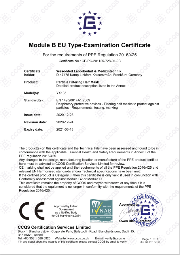 ModulB-EU-Zertifizierung